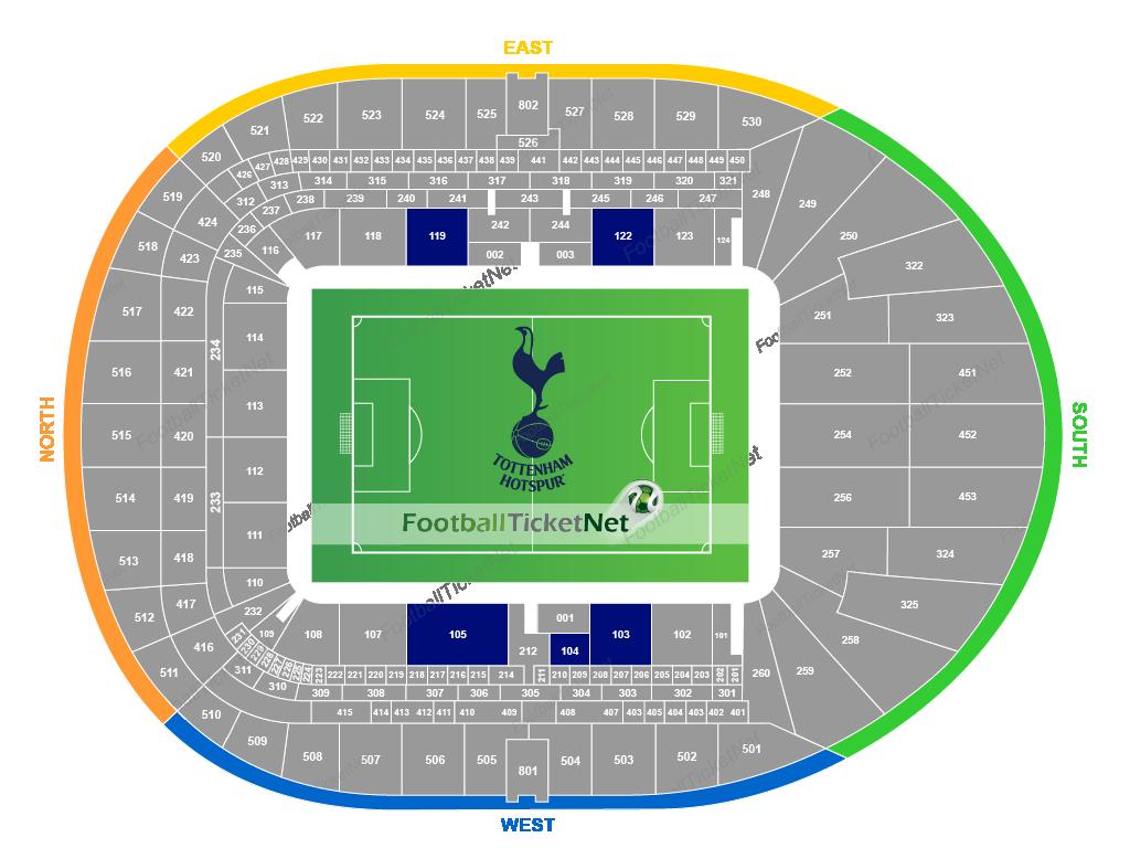 Tottenham Hotspur Vs Rb Leipzig At Tottenham Hotspur Stadium On 19 02 20 Wed 20 00 Football Ticket Net